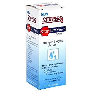 Stoppers4 Stop Dry Mouth Spray, 4-Ounces
