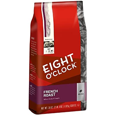 Eight O'Clock French Roast Whole Bean Coffee, 36-Ounce Bag by Eight O'Clock Coffee