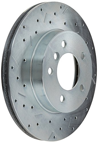 For Mustang Cobra Pair of Front Left /& Right Slotted Brake Disc Rotors StopTech