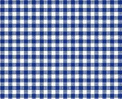 SheetWorld Fitted Crib / Toddler Sheet - Primary Navy Gingham Woven - Made In USA