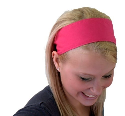 Hot Pink Perfect Summer Inspiration Super Cute Wide Headband By Bargain Headbands