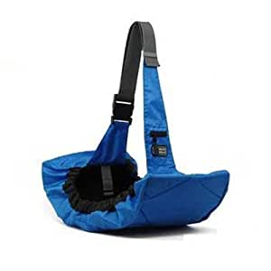 Outward Hound 21010 Pooch Pouch Sling Carrier For Dogs Easy-Fit Adjustable Dog Carrier, Blue