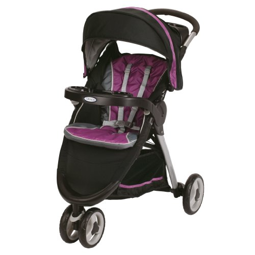 Graco Fastaction Fold Sport Stroller Click Connect Stroller, Nyssa