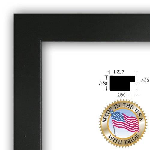 9x24 / 9 x 24 Picture Frame Satin Black .. 1.25\'\' wide | thanksgiving