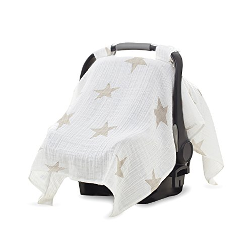 Review Of aden + anais Car Seat Canopy, Super Star Scout