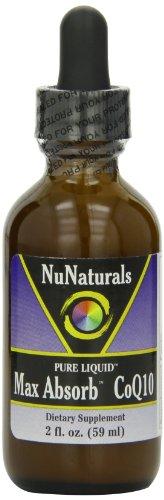 Nunaturals Coq10 Max Absorb Liquid, 2-Ounce