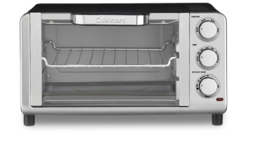Cuisinart TOB-80 Compact Toaster Oven Broiler (Small Space Toaster Oven compare prices)