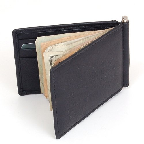 Imagen de Mens Alpine Swiss Money Clip Front Pocket Wallet primavera Clip 9 ranuras p