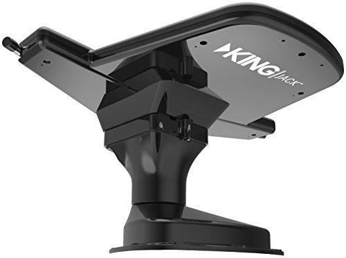 KING OA8201 Jack HDTV Over-the-Air Antenna with Mount and Built-in Signal Meter - Black (Rv Tv Antenas compare prices)