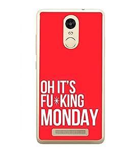 Quote 2D Hard Polycarbonate Designer Back Case Cover for Xiaomi Redmi Note 3 :: Xiaomi Redmi Note 3 Pro :: Xiaomi Redmi Note 3 MediaTek