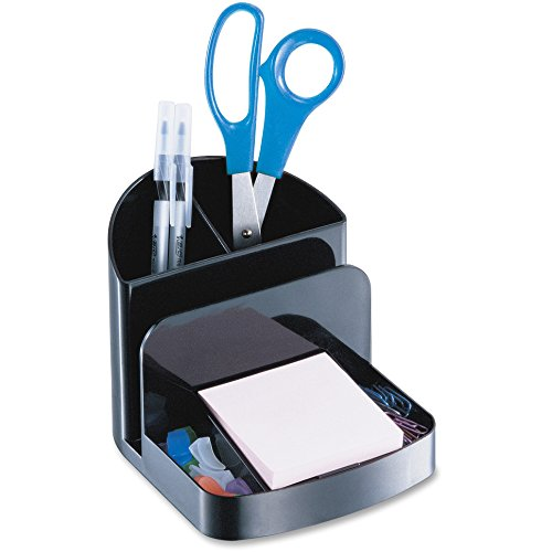 Officemate Recycled Deluxe Desk Organizer, Black (26022)