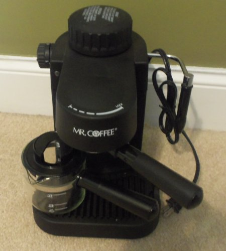Mr Coffee Espresso Maker How To Use : Mr. Coffee Espresso Cappuccino Machine Maker ECM10 Espresso Machine Reviews