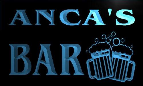 w128810-b-anca-name-home-bar-pub-beer-mugs-cheers-neon-light-sign