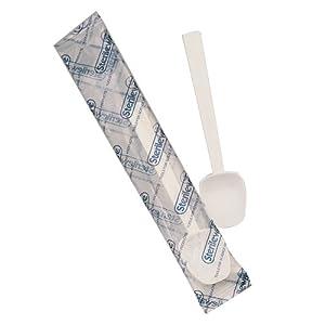 Bel-Art Scienceware 369460000 Polystyrene 3 Teaspoon Capacity Sterileware Sampling Spoon (Case of 200)