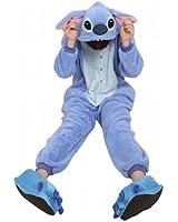 reine à la mode Pajamas Onesie Cospaly Fleece Costume Deguisement Adulte Unisexe