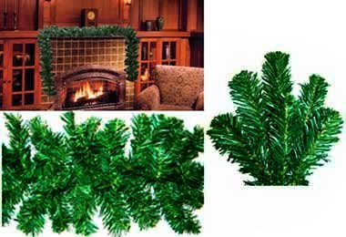 10 x 9 Norway Pine Artificial Christmas Garland