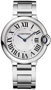 Cartier Midsize W69011Z4 Ballon Bleu Stainless Steel Watch