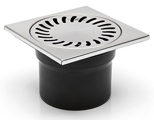 Floor/Shower Drain 150 x 150 mm DN100 Traps Odour DNS-110-N by Chudej GmbH (Dns Appliance compare prices)