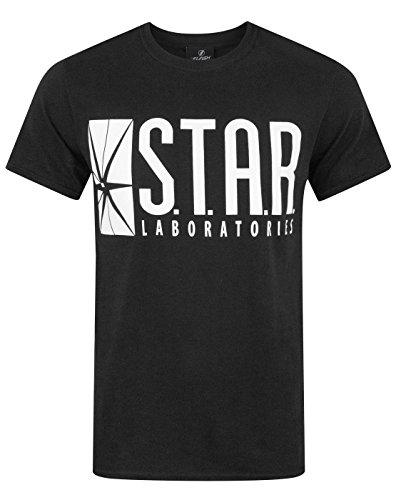 Official Flash TV STAR Laboratories Men's T-Shirt (S)