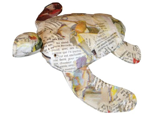 Biodegradable Urns: Paper Turtle- Newsprint