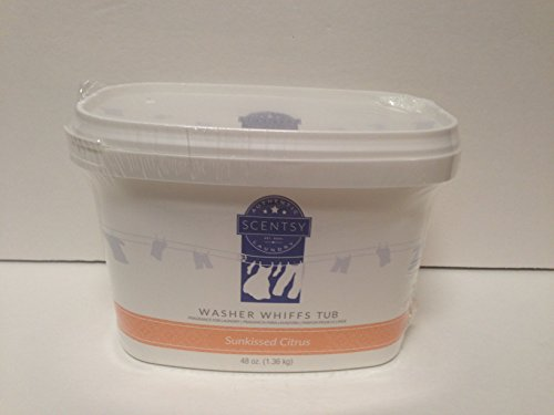 Layers by Scentsy Washer Whiffs (Sunkissed Citrus, 48 oz Tub) (Layers Washer Whiffs compare prices)