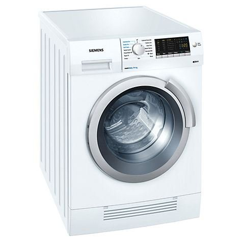 Siemens WD14H420GB Washer Dryer, 7kg Wash/4kg Dry Load, B Energy Rating, 1400rpm Spin, White - Z 571499
