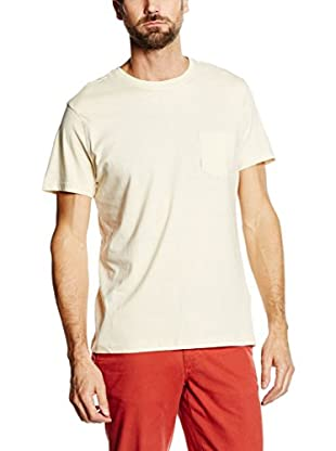 Cortefiel Camiseta Manga Corta (Crudo)