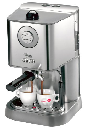 Gaggia 12300 Baby Class Manual Espresso Machine, Brushed Stainless Steel Gaggia B000TBLSG0
