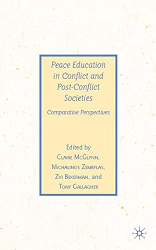 Peace Education in Conflict and Post-Conflict Societies: Comparative Perspectives (Previous Publications)