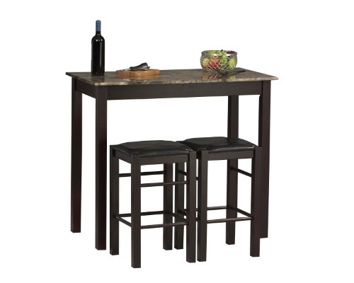 Linon Tavern Collection 3-Piece Table Set (36 High Table compare prices)