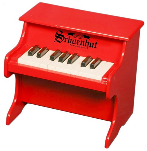 Schoenhut 1822R - 18 Key My First Piano (Red) (Tabletop Piano compare prices)