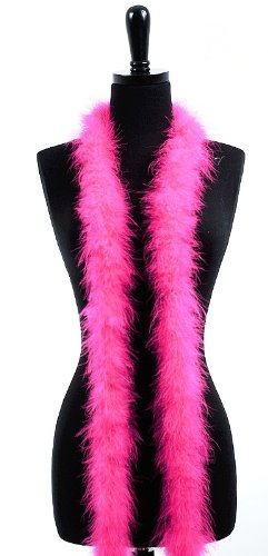 6' Adult Marabou Feather Boa - (2 boas)