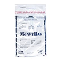 PM Company 997292 12x16 Clear Deposit Bags - 100