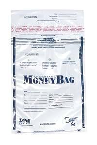 PM Company 12x16 Clear Deposit Bags, Quantity 100 (997292)