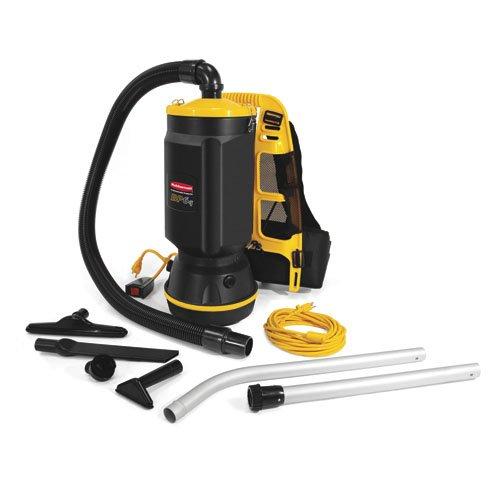 Rubbermaid Commercial 9VBP10 10 Quart Backpack Vacuum Cleaner, 8A Power, 11-1/2