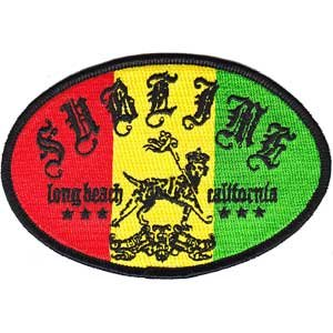 Application Sublime Rasta Lou Patch