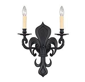 Savoy House 9-606-2-167 Appliques Collection 2-Light Wall Sconce, Tierra De Sienna Finish