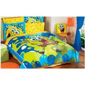 spongebob bedding totally kids totally bedrooms kids bedroom