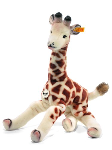 Steiff 45cm Lizzy Dangling Giraffe (Cream/ Brown)