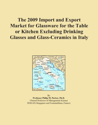 The 2009 Import and Export Market for Glassware for the Table or Kitchen Excluding Drinking Glasses and Glass-Ceramics in Italy