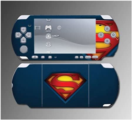Superman Returns Game Vinyl Decal Sticker Cover Skin Protector #6 for Sony PSP Slim 3000 3001 3002 3003 3004 Playstation Portable