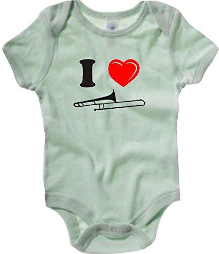 Krokodil-Baby-Body-Musikinstrument-Posaune-viele-Farben-Gre-3-24-Monate