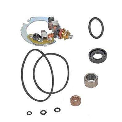 Starter Motor Repair Kit for Honda Motorcycle CBR600F4 599cc 99-06, Kawasaki ATV KLF220 Bayou 215cc 96-02 / KLF250 228cc 03-09, Suzuki Motorcycles DL650 SV650 SV650 645cc 99-08 / MZ800 Marauder 805cc 04, Yamaha Motorcycle FZ6 YZF-R6 YZF-R6S 99-08