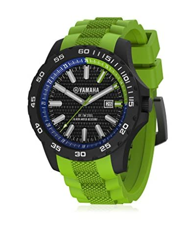 Yamaha Y12 by TW Steel Orologio con Movimento Miyota  Verde 45 mm