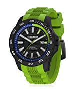 Yamaha by TW Steel Reloj con movimiento Miyota Y10 Verde 45  mm