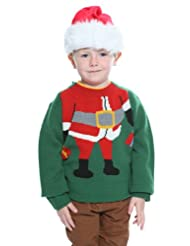 costumeshop Kids Santa Sweater green