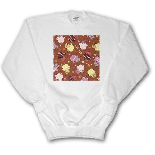 Chocolate Cupcake Design - Adult SweatShirt 3XL