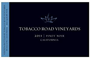 2011 Tobacco Road Pinot Noir, California 750 mL Wine