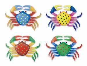 Puzzled 7308 Bobble Metal Magnet - Crab