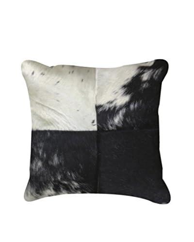 Torino Quatro Large Pillow, Black/White